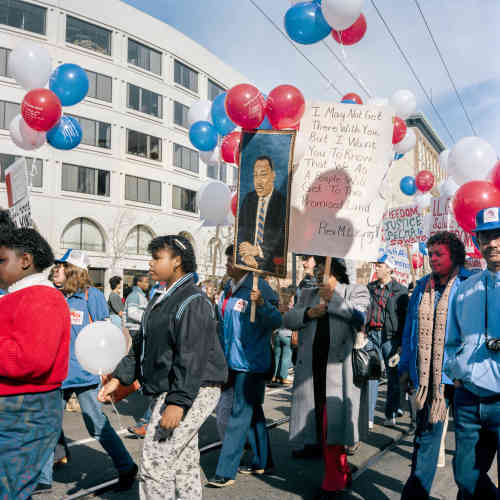 « I May Not Get There, First Martin Luther King Jr. Day Parade », 1986.