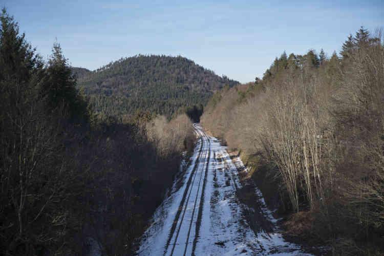 La ligne de train assurant la liaison entre Epinal et Saint-Dié-des-Vosges est suspendue depuis le 22 décembre 2018.