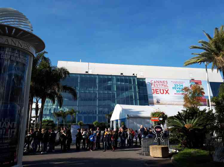 La 33eédition du Festival international des jeux (FIJ) de Cannes, qui se tient dans le Palais des festivals, a ouvert ses portes au grand public vendredi 22février pour trois jours.