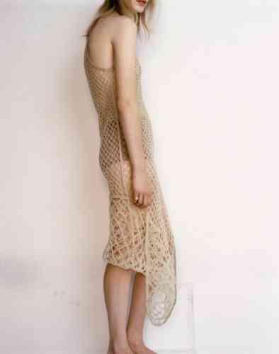Robe en résille de tulle et culotte en jersey, Christian Dior.