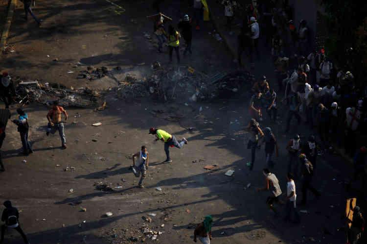 Dénonçant l'«usage de la force», les pays latino-américains et européens du Groupe de contact international sur le Venezuela ont réaffirmé mercredi leur soutien à une solution «politique, pacifique, démocratique et conduite par les Vénézuéliens à la crise».