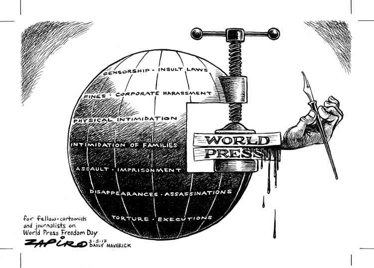 Zapiro, Afrique du Sud.