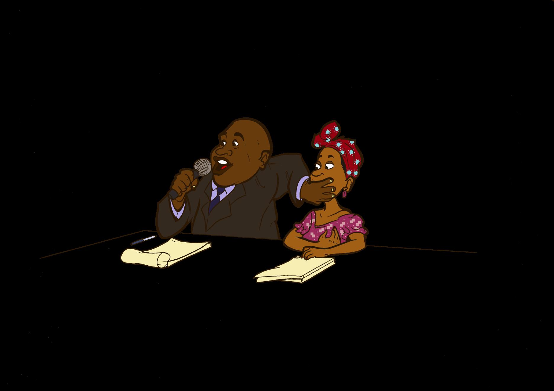 """Résultat de recherche d'images pour """"image caricaturé de haine en afrique"""""""