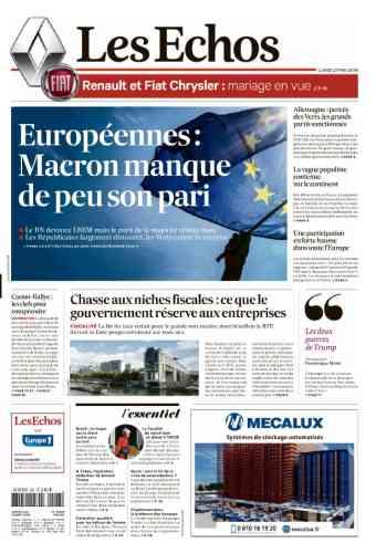 Pour « Les Echos », il n'est pas question de défaite pour la majorité présidentielle. L'éditorialiste politique Cécile Cornudet estime aussi que « le parti de la majorité résiste bien ».