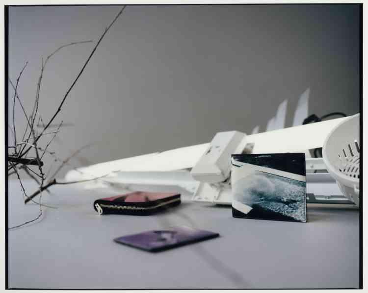 Portefeuille, porte-monnaie et porte-cartes en cuir, Paul Smith.