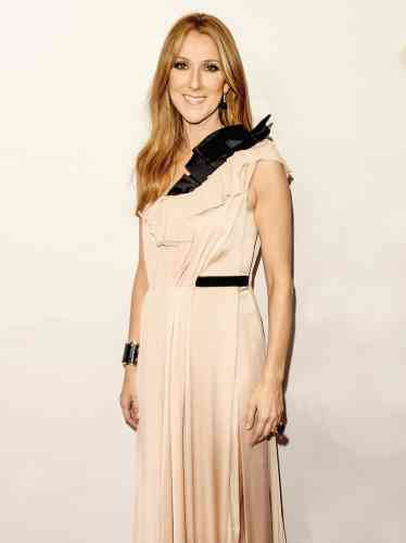 The grand parade of Celine Dion