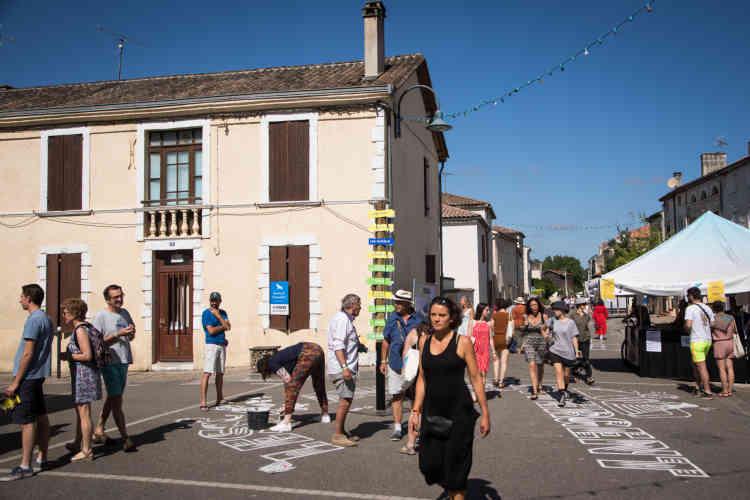 Couthures-sur-Garonne vit au rythme du festival, samedi 13 juillet.