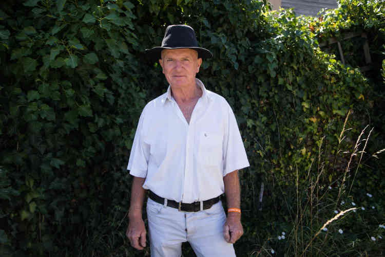 Jean-Michel Moreau, le maire de Couthures-sur-Garonne, samedi 13 juillet.