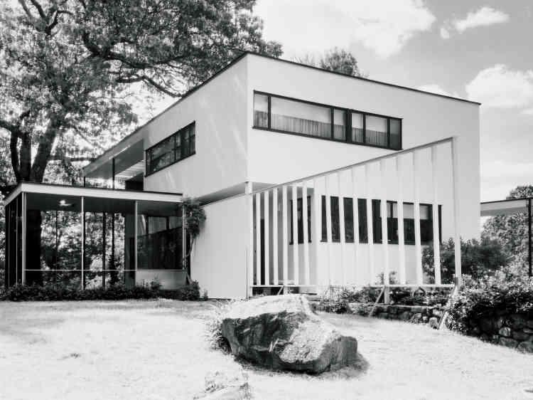 La Gropius House, au 68 Baker Bridge Road, à Lincoln.
