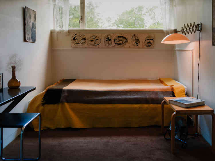 La chambre d'Ati, la fille de Walter et d'Ise Gropius.