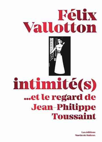 C'est en 1898 que Félix Vallotton (né à Lausanne, le 28 décembre 1865, et mort à Paris, le 29 décembre 1925) publie une série de dix gravures sur bois sous le titre «Intimités», rassemblées dans un portfolio par les éditions de La Revue blanche dont le tirage n'exèdera pas les 30 exemplaires. Ce recueil les met à nouveau en lumière accompagnées par d'autres gravures devenues célèbres depuis (comme «La Nuit» ou encore«Le Bain» et «L'Emotion»). A l'heure oùla lithographie en couleur était très en vogue, il choisira des aplats en noir et blanc, reflet de sa démarche artistique et témoin de sa personnalité.