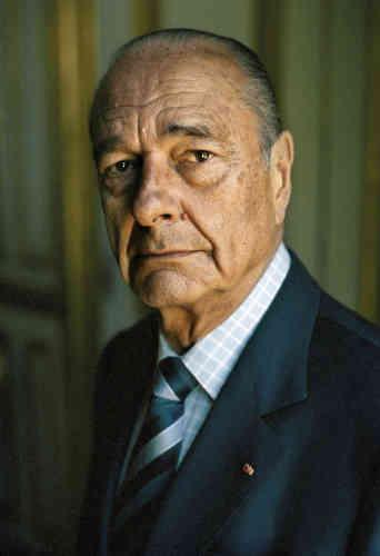 Jacques Chirac à l'Elysée enjuillet 2006.