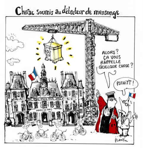 1977 : Jacques Chirac est élu maire de Paris. Plusieurs affaires éclateront dès la fin des années 1990.