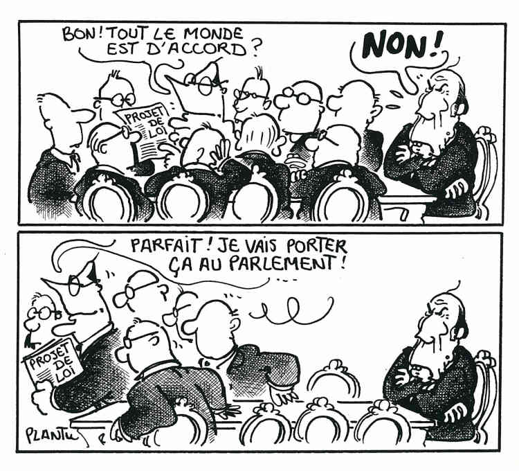 1986-1988 : cohabitation avec François Mitterrand.