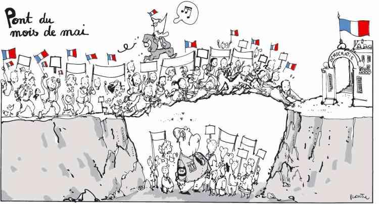 2002 : opposé à Jean-Marie Le Pen au second tour, Jacques Chirac est réélu président de la République avec 82,2% des voix.