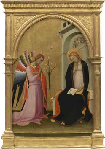 Lorenzo Monaco était le plus grand peintre de Florence à l'aube du XVe siècle. Formé par Agnolo Gaddi dans la tradition de Giotto, il abandonna celle-ci au profit d'un style sinueux qui s'inscrit dans le courant gothique international.