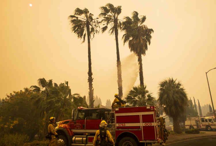 Cette fois la plupart des évacués ont à peine aperçu ou senti la fumée. Tous décrivent des procédures d'évacuation bien rodées.