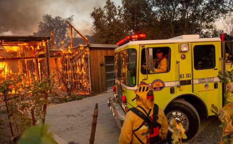 La ville de Santa Rosa et ses environs se remettent à peine du«Tubbs Fire», qui avait fait 22 victimes en octobre 2017.