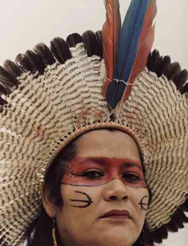 Eunice Kerexu, Guarani, Brésil.