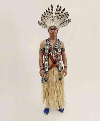 Puwe, du peuple puyanawa, Brésil.