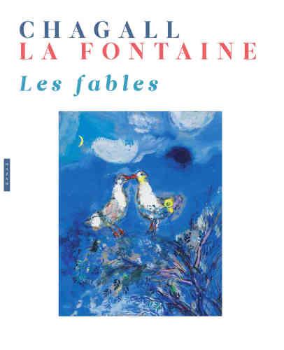 Ce coffret réunit deux artistes célèbres : l'un des plus grands poètes, et moraliste, du XVIIe siècle et une figure marquante de l'art au XXe siècle, qui livre ici sa vision onirique des Fables. Ainsi Jean de La Fontaine (né le 8 juillet 1621 à Château-Thierry et mort le 13 avril 1695 à Paris) et Marc Chagall (né le 7 juillet 1887 à Liozna, près de Vitebsk, en Biélorussie, naturalisé français en 1937, et mort le 28 mars 1985, à Saint-Paul-de-Vence, où il est enterré) se rencontrent sur le même support, créant l'un, l'autre une suite de résonnances entre texte et image. Ce projet éditorial fut confié par le célèbre marchand d'art Ambroise Vollard à Marc Chagall en 1925. Une rencontre artistique insolite et fictive à travers une soixantaine de gouaches, accompagnées de leurs gravures.