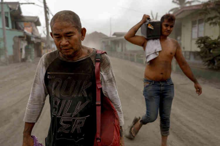 Le 13 janvier. A Agoncillo, province de Batangas (Philippines).