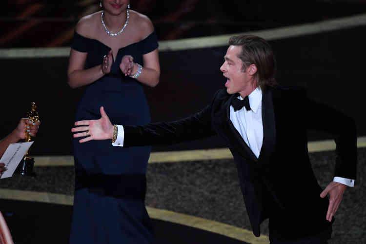 Pour Brad Pitt, c'était une première. L'acteur a été décoré de l'Oscar du meilleur second rôle pour sa performance dans«Once upon a Time… in Hollywood» de Quentin Tarantino.