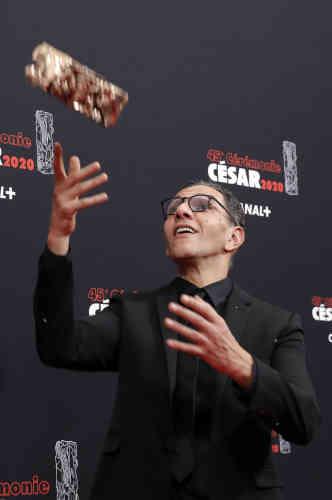 C'est l'acteur Roschdy Zem qui a reçu le César du meilleur acteur, pour le film«Roubaix, une lumière», d'Arnaud Desplechin.