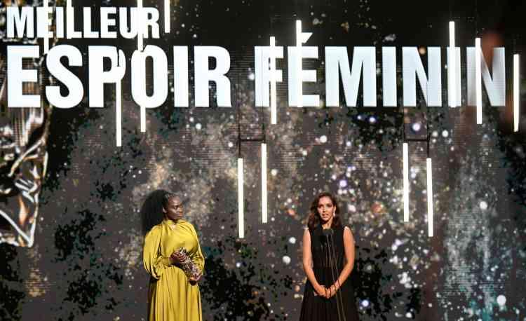 L'actrice franco-algérienne Lyna Khoudri a été récompensée du meilleur espoir féminin pour son rôle dans le film féministe «Papicha».