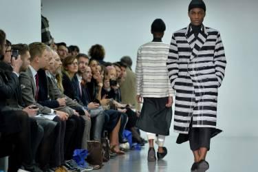 Défilé Agi & Sam, lors de la Semaine de la mode masculine de Londres, le 8 janvier.