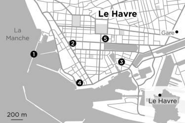 Carte du Havre