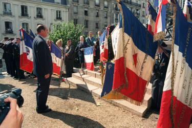 Le 16 juillet 1995, il commémore la rafle du vélodrome d'Hiver. Il est le premier président à reconnaître la responsabilité de la France dans la déportation des juifs sous le régime de Vichy.