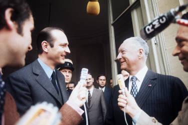 Valéry Giscard d'Estaing le nomme premier ministre le 27 mai 1974. Il est alors le plus jeune chef de gouvernement depuis 1958. Il claquera la porte de Matignon le 25 août 1976, considérant «ne pas disposer des moyens nécessaires» pour gouverner.